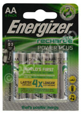 Genuine Energizer Power Plus AA Rechargeble Ni-MH Batteries 2000 mAh [4-Pack]
