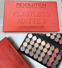 Makeup Revolution Eyeshadow Palette impeccabile Matte 2 Ombre Ultra