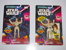 1993 Justoys Star Wars Bend 'Em Luke Skywalker, Limited with Trading Card, Moc