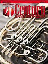 "BELWIN-21st CENTURY BAND METHOD LEVEL 2 FOR ""FRENCH HORN"" MUSIC BOOK-NEW ON SALE"