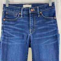 """Madewell 9"""" High Rise Skinny Jeans Size 25"""
