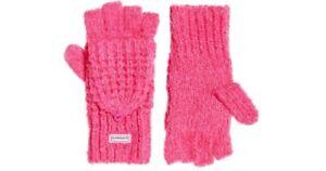Superdry Clarrie Mitten Fluro Pink Twist One Size DH015 JJ 05