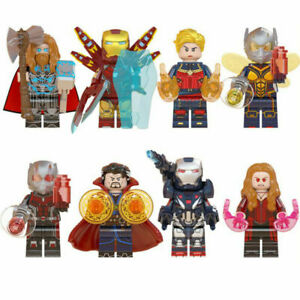 8 Stück Marvel Avengers passen Lego Minifiguren Superheld Iron Man Thor Toys DE