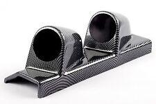 Doble Pilar Montaje 2 calibre titular 52mm De Fibra De Carbono efecto Mano Izquierda Disco Pod