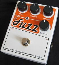 VDL Analogics il Fuzz / Boutique Guitar Or Bass Effect Pedal - Brand New!