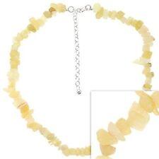 Modeschmuck-Halsketten aus Stein und Sterlingsilber