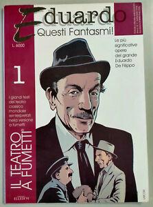 Eduardo Quesi Fantasmi Il Teatro a Fumetti n. 1 1998 Libro come foto N