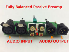 Fully Balanced Passive Preamp board HiFi Pre-Amplifier XLR RCA Volume Controller