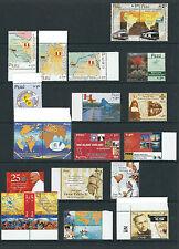 PERU 2001-4 15 different commemorative sets fresh and MNH
