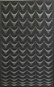 Angelo Giuseppe Bertolio serigrafia Forme Sequenza 100x63 firmata 1974