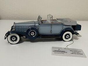 1932 Cadillac Phaeton Franklin Mint 1:24 Limited of 1500 *READ*