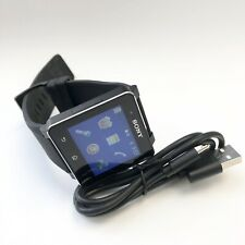 Clean * Sony SmartWatch SW2 - Black Modern Buckle