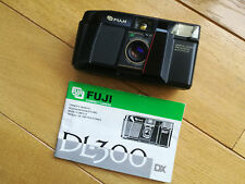 Fuji DL-300 - compact 35mm film camera with fast 35mm/f2.8 lens