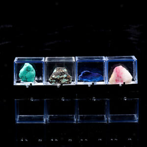 Dustproof Acrylic Display Case for Rock Figurines 3D Models Collection