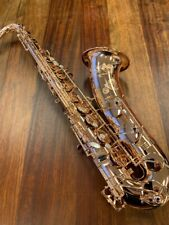 Yanagisawa T-W020 PGP Tenor Saxophone | Bronze with Pink Gold Plating | New