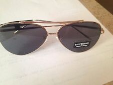 New Steve Madden Unisex Sunglasses SM462139 GOLD MSRP $40