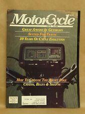 Vintage Motorcycle Magazine Spring 1982 Honda GL1100 Kawasaki KZ1300 A GS1100 GK