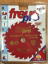 Freud LCL6M01062 165 x 1.7 x 20 x 24T Trim Saw Blade