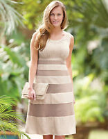 Bravissimo Embroidered Stripe Dress by Pepperberry RRP £69 (79)