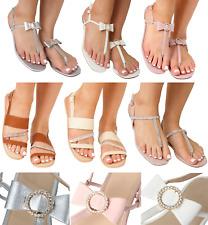 Brillo-Cuero-Negro-tamaños de 3 a 8 Sandalias para mujer-abarcas