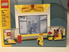 Lego Store Picture Frame 40359 Lego Store Staff Minifigure~