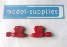 Dinky 734 Thunderbolt reproduction pair red plastic bombs