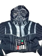 Star Wars Darth Vader Sublimated Costume Hoodie for Kids, Medium