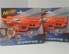 1-Nerf N-Strike SnapFire Blaster Toy Dart Gun Stealth-Sized 2x Storage
