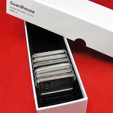 1 oz Silver Bar Guardhouse Single Row Storage Box #8 with capacity up to 25 Bars