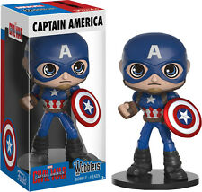FUNKO WOBBLERS MARVEL CAPTAIN AMERICA 3 CIVIL WAR BOBBLE HEAD WOBBLER FIGURE