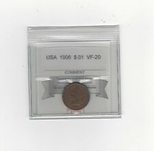 **1906** USA, Small One Cent