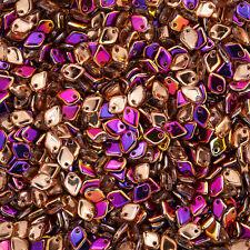 5 mm dragon ® échelle Crystal sliperit Tchèque Perles De Verre 9 g (M38/6)