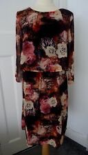 TOGETHER WINTER ROSE DRESS SIZE 12 - 16 BNWT RRP £69.00