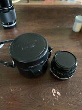 Olympus OM Zuiko 24mm f2.8 Lens w/ Case