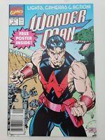 WONDER MAN #1 (1991) MARVEL COMICS FOLD-OUT POSTER NEWSSTAND VARIANT EDITION HTF