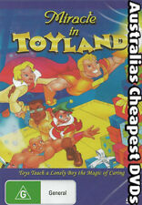 Miracle In Toyland DVD NEW, FREE POSTAGE WITHIN AUSTRALIA REGION ALL