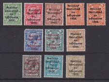Eire Ireland 1922 Mint MH Part Set Definitive King George V Overprint Thom 30-43