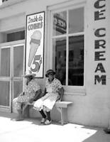 """1940 Ice Cream Parlor, Port Gibson, Mississippi Old Photo 8.5"""" x 11"""""""