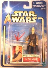 2002 Star Wars: AOTC Hasbro Action Figure - KI-ADI-MUNDI (JEDI MASTER) Series 2