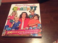 Rosie O'Donnell's Crafty U signed by Rosie O'Donnell