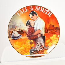 Gone With The Wind Musical Treasures Fall Of The South Plate Aleta 1995 Bradford
