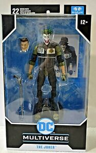 DC Multiverse THE JOKER Batman White Knight  7 inch Action Figure Mcfarlane Toys