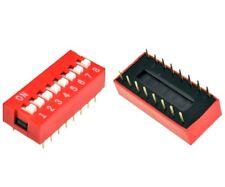 Switch commutateur interrupteur 8 positions DIP / 8 positions buttons Switch DIP