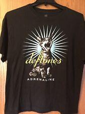 """Deftones.  """"Adrenaline"""".  Shirt.   Black.   L"""