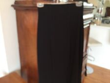 Last Tango NWT black Lined skirt SZ S Stretch Long Ankle Amazing Dressy, Casual