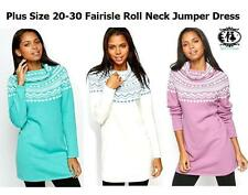 Polo Neck None Long Striped Jumpers & Cardigans for Women