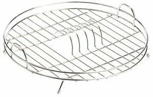 Delfinware Stainless Steel Circular Drainer , 37 x 37 x 10 cm