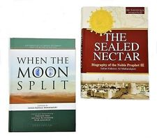 SPECIAL OFFER! Popular Seerah Books-When the Moon Split & The Sealed Nectar-HB