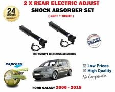 FOR FORD GALAXY + ECOBOOST 2006-2015 2X REAR ELECTRIC ADJUST SHOCK ABSORBERS SET