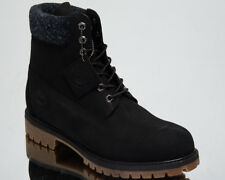 Timberland 6 Inch Premium Waterproof Boots Men's New Lifestyle Shoes Black A1UEJ